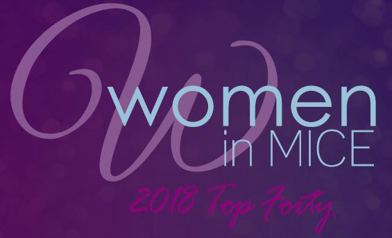 August 2018 – TOP 40 WOMEN IN MICE 2018